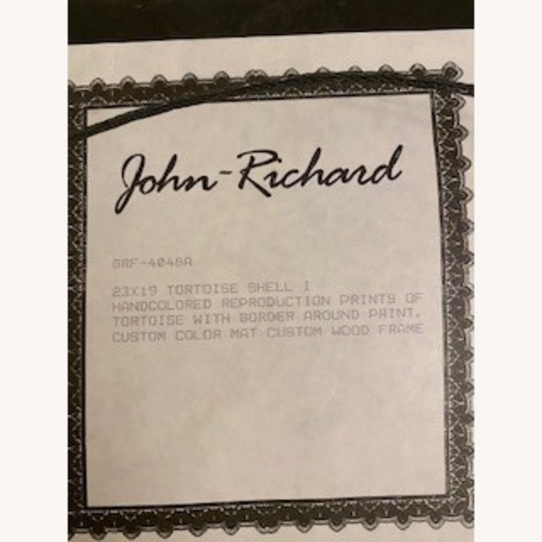 John-Richard Tortoise Prints Bful Wood Frame - image-1