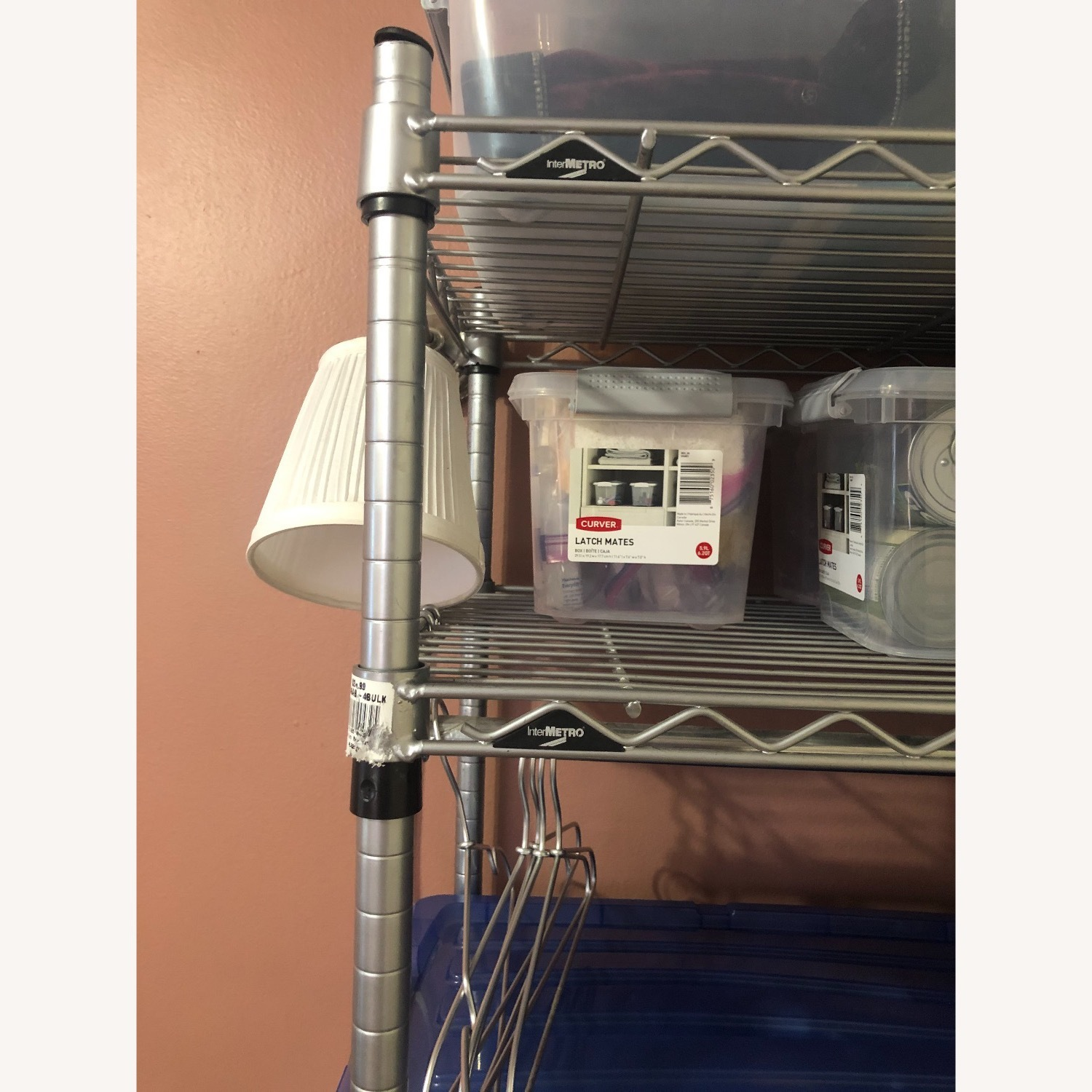 Metal Metro Shelving Unit - image-2