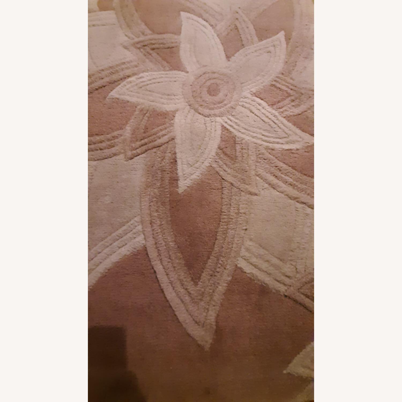 Textured Floral Carpet - image-1