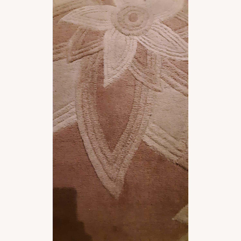 Textured Floral Carpet - image-2
