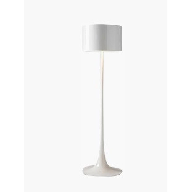 Flos White Spun Floor Lamp - image-0