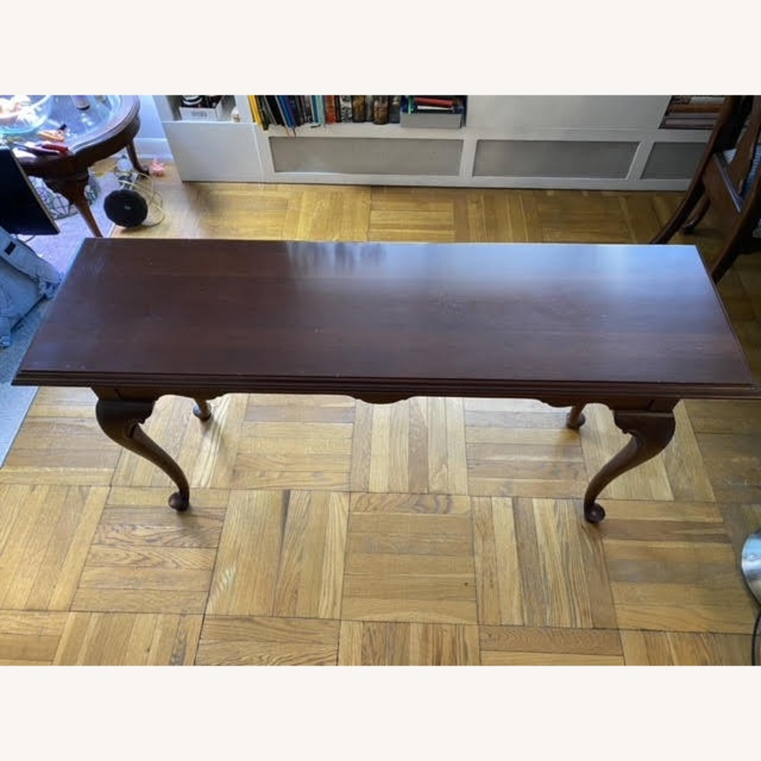 Ethan Allen Solid Wood Console Table - image-1