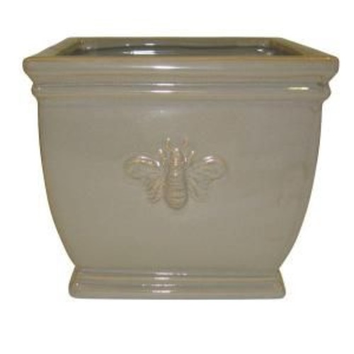 Used Home Depot Ceramic Bee Planter for sale on AptDeco