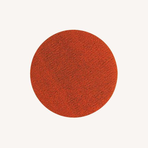Used Chilewich Orange Dot Rug for sale on AptDeco