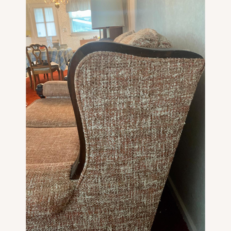 Ethan Allen Vintage Tweed Love Seat - image-3
