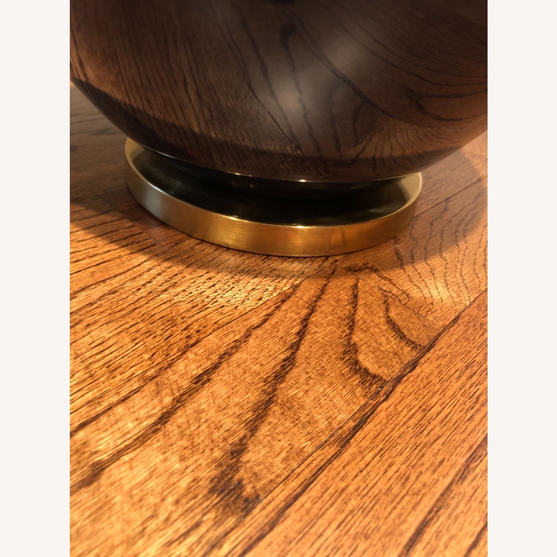 Ethan Allen Navy Blue Ceramic Table Lamp - image-6