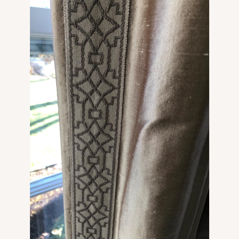 Calico Corners Custom Silk Drapes - image-2