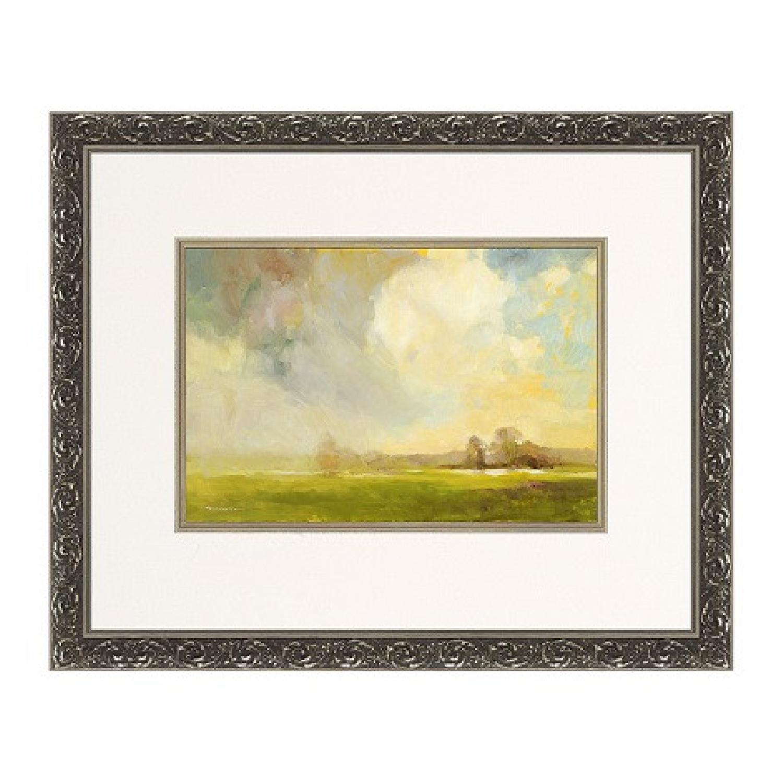 Ethan Allen Misty Landscape Framed Print - image-7