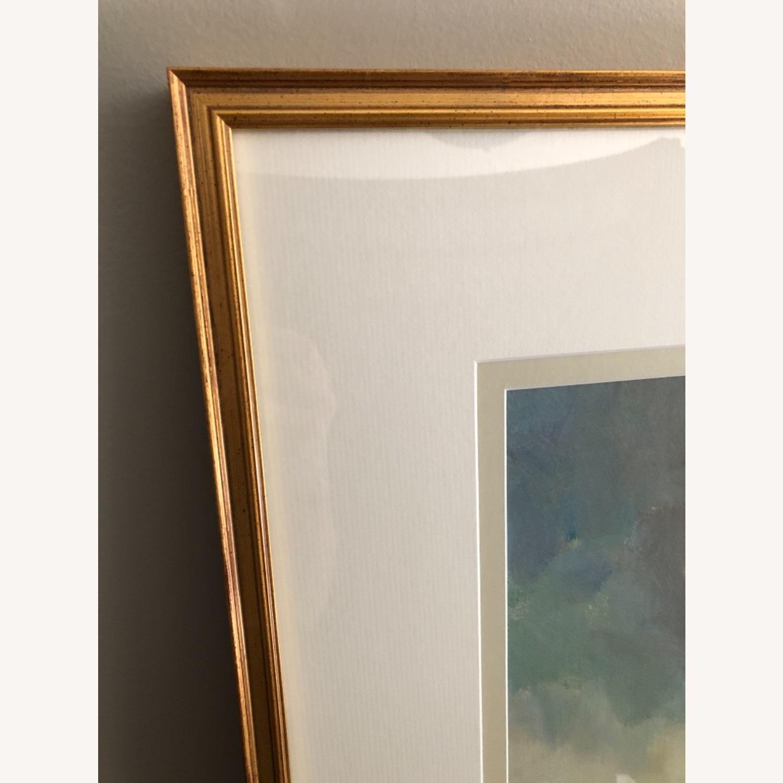 Ethan Allen Misty Landscape Framed Print - image-6