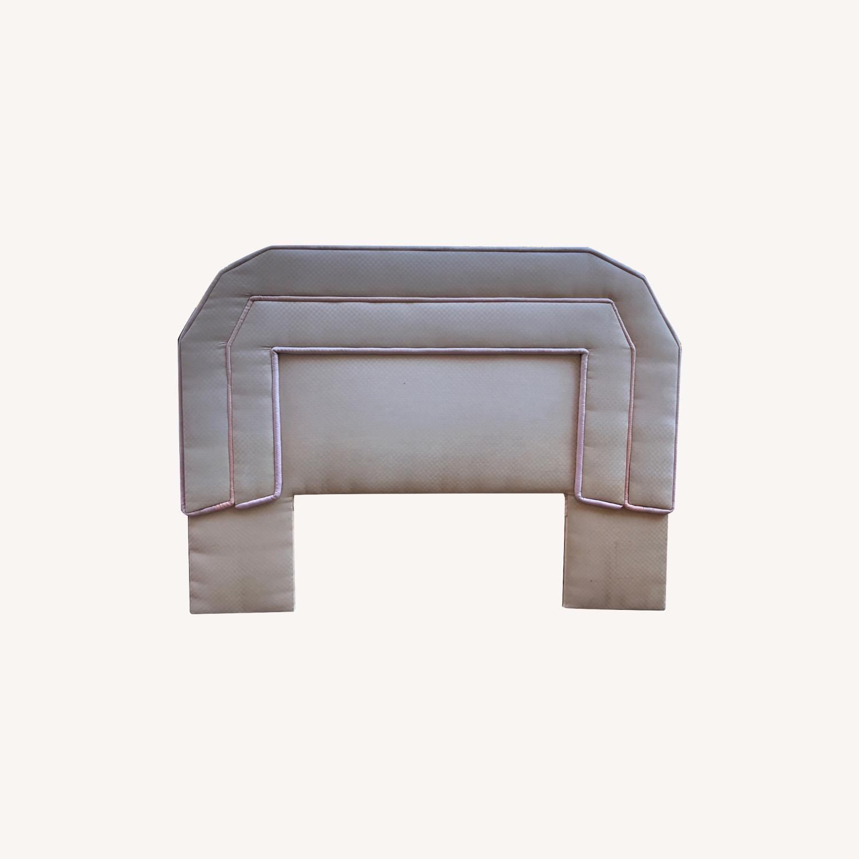 Fabric Piquet Headboard - image-0