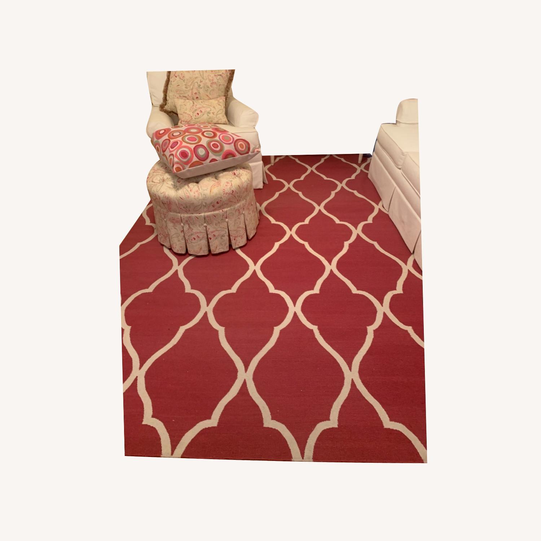 Ethan Allen Pink rug - image-0