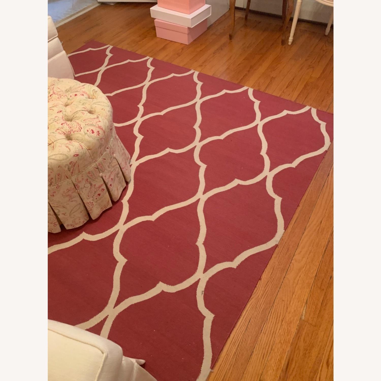 Ethan Allen Pink rug - image-2