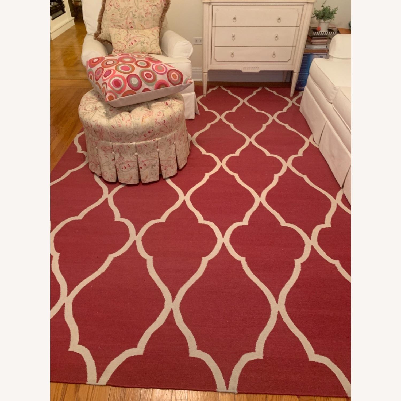Ethan Allen Pink rug - image-3