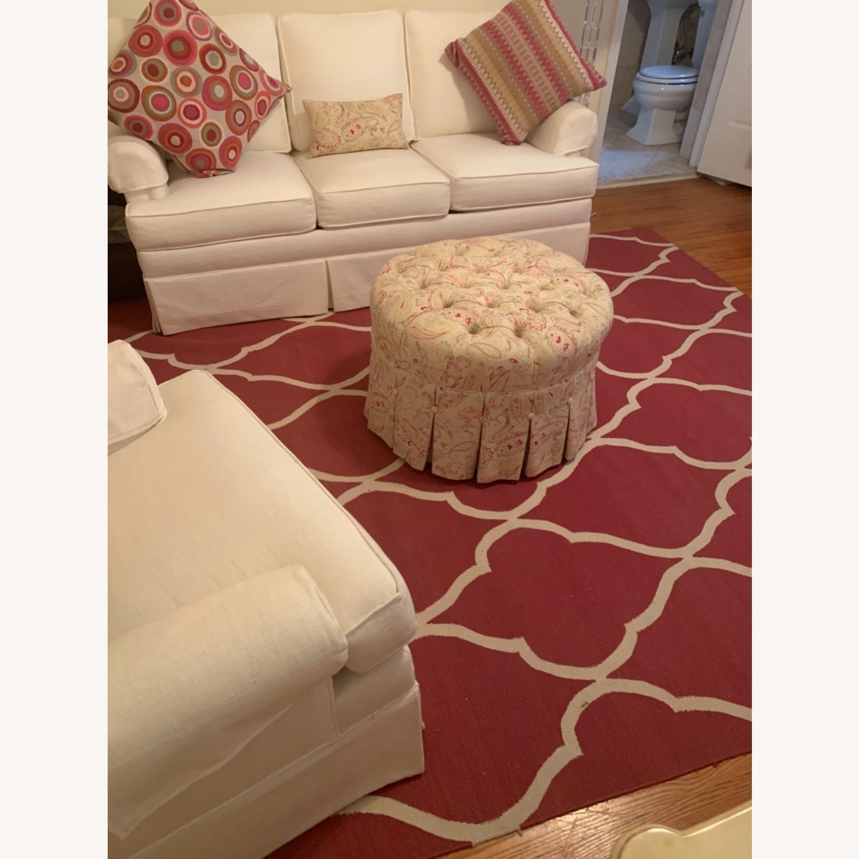 Ethan Allen Pink rug - image-4