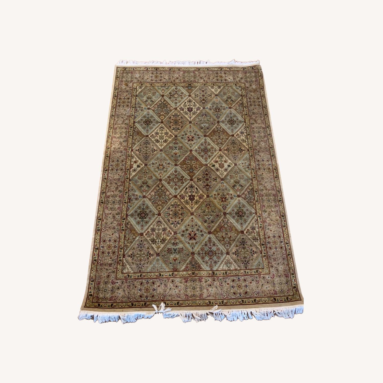 Persian Handwoven Wool Rug - image-0
