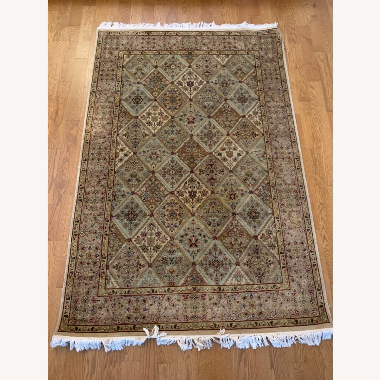Persian Handwoven Wool Rug - image-4