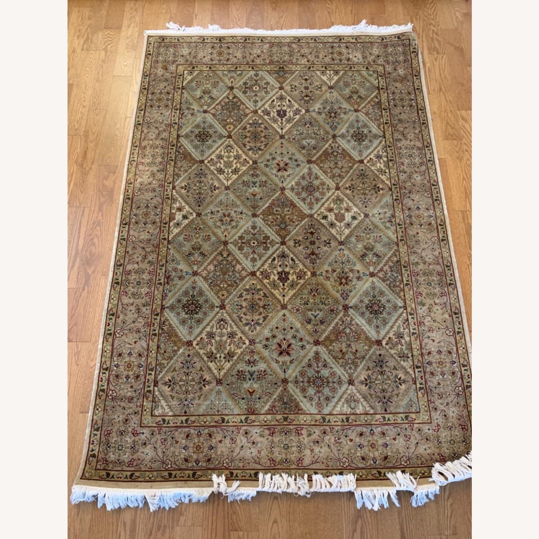 Persian Handwoven Wool Rug - image-5