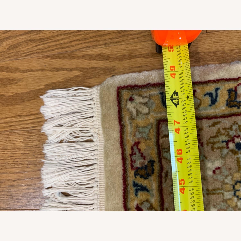 Persian Handwoven Wool Rug - image-7