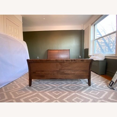 Used Jensen-Lewis Sleigh Bed for sale on AptDeco