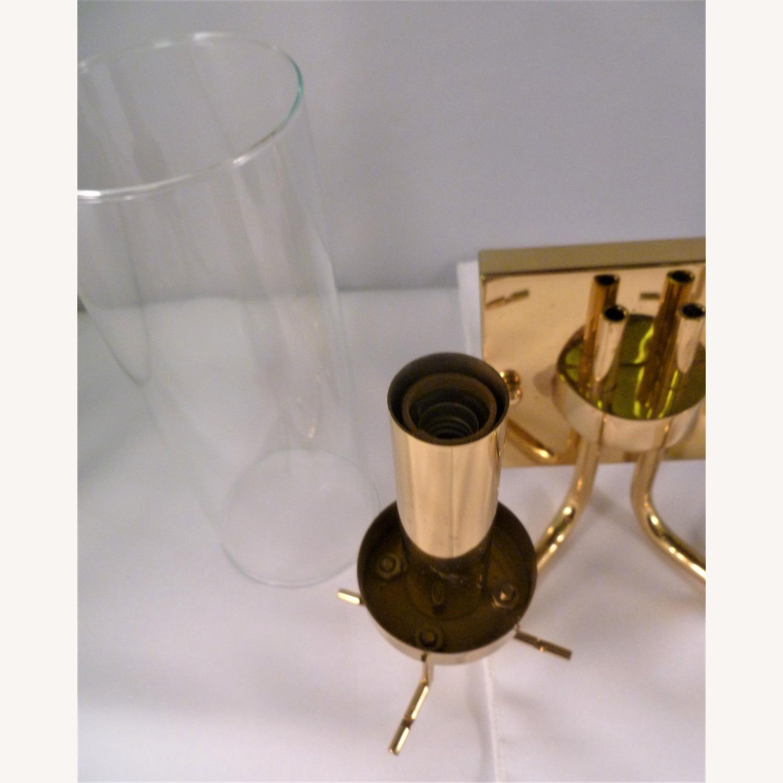 Pair Baldinger 2-Arm Candelabra Sconces - image-9