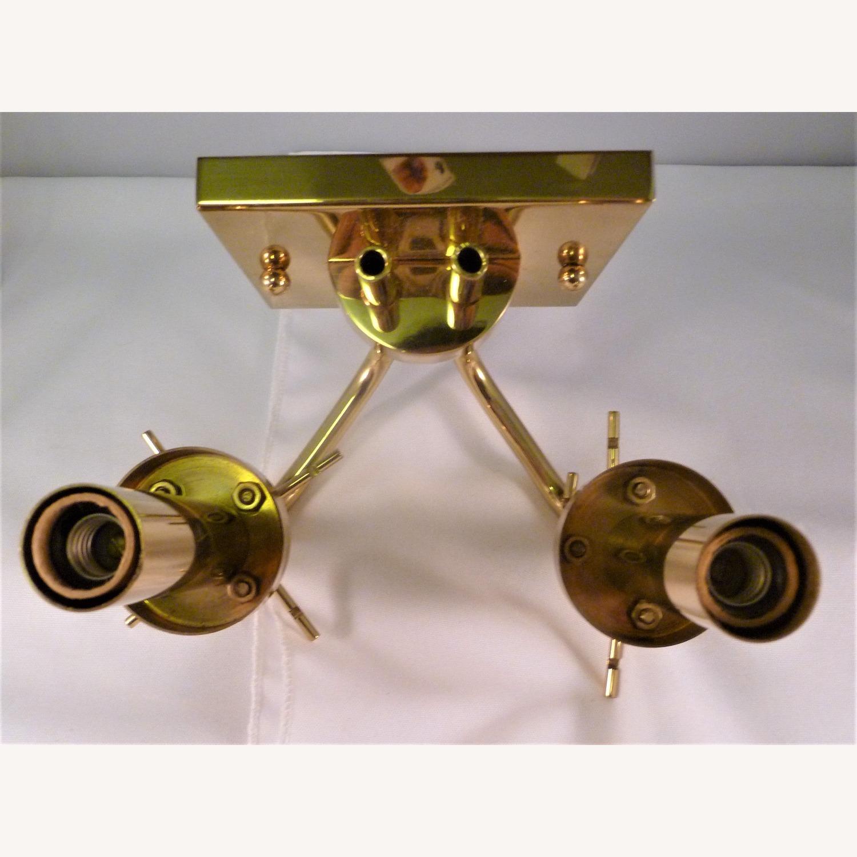 Pair Baldinger 2-Arm Candelabra Sconces - image-4