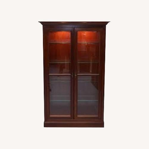Used Grange Furniture Glass Display Cabinet for sale on AptDeco