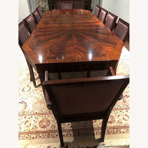 Used Ralph Lauren Dining Set Plus 12 chairs for sale on AptDeco