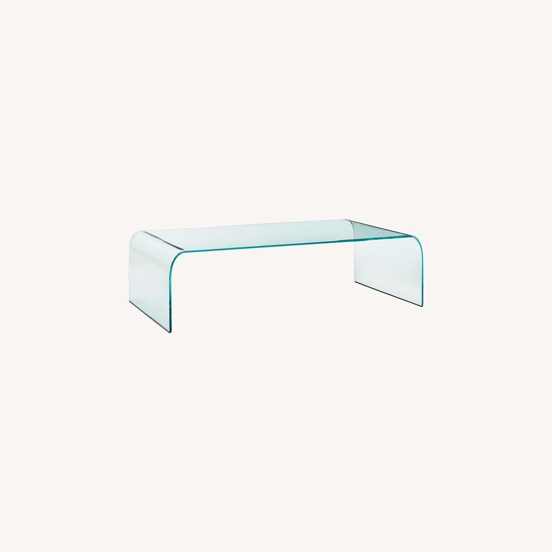 Massimo Iosa Ghini Vintage Glass Table - image-0