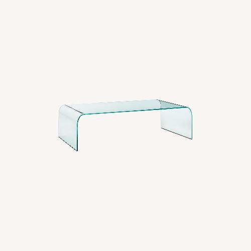 Used Massimo Iosa Ghini Vintage Glass Table for sale on AptDeco