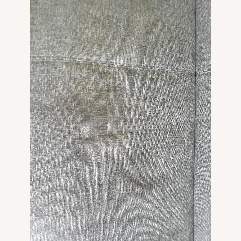Light Grey Sleeper Sofa with Storage - image-3