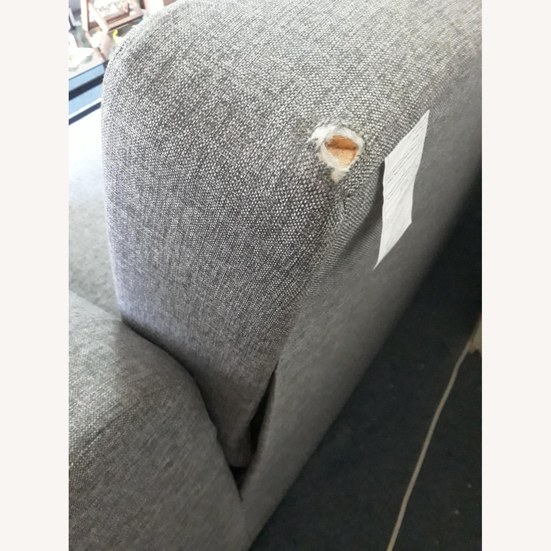 Light Grey Sleeper Sofa with Storage - image-2