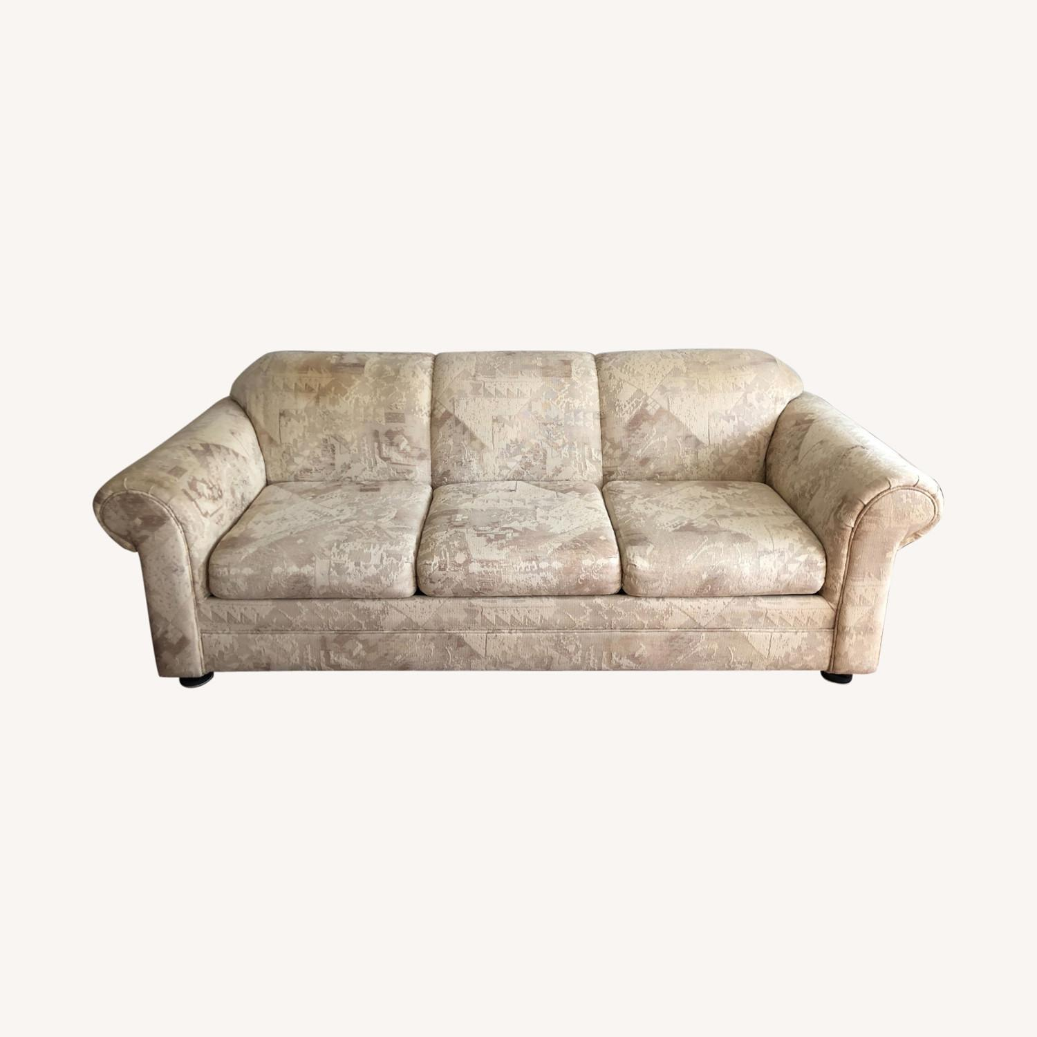 Sealey Three Seater Sleeper Sofa - image-0
