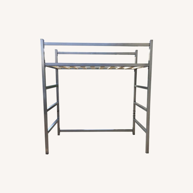 Industrial Modem Steel Loft Bed - image-0