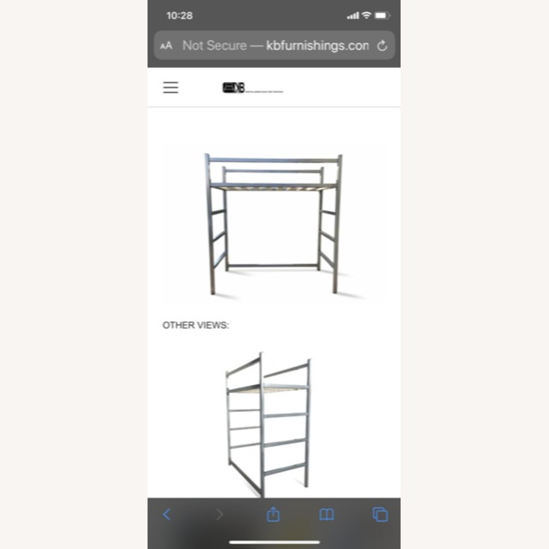 Industrial Modem Steel Loft Bed - image-3