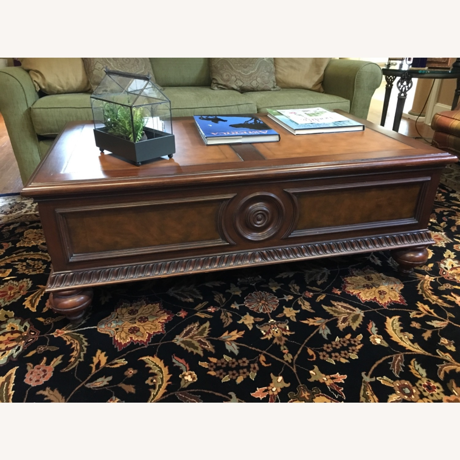 Ethan Allen Morley Coffee Table - image-1