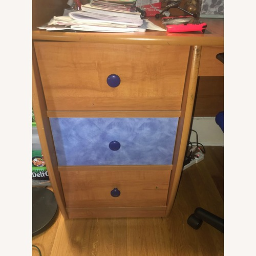 Used BERG Wood Desk for sale on AptDeco