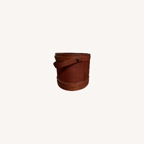 Used Divided Wooden Stave Bucket for sale on AptDeco