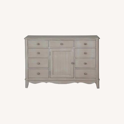 Used Bassett Ava Collection Dresser and Hutch for sale on AptDeco