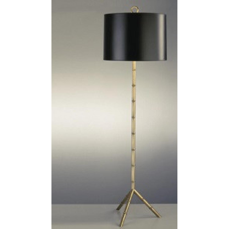 Jonathan Adler Brass Bamboo Floor Lamp - image-4