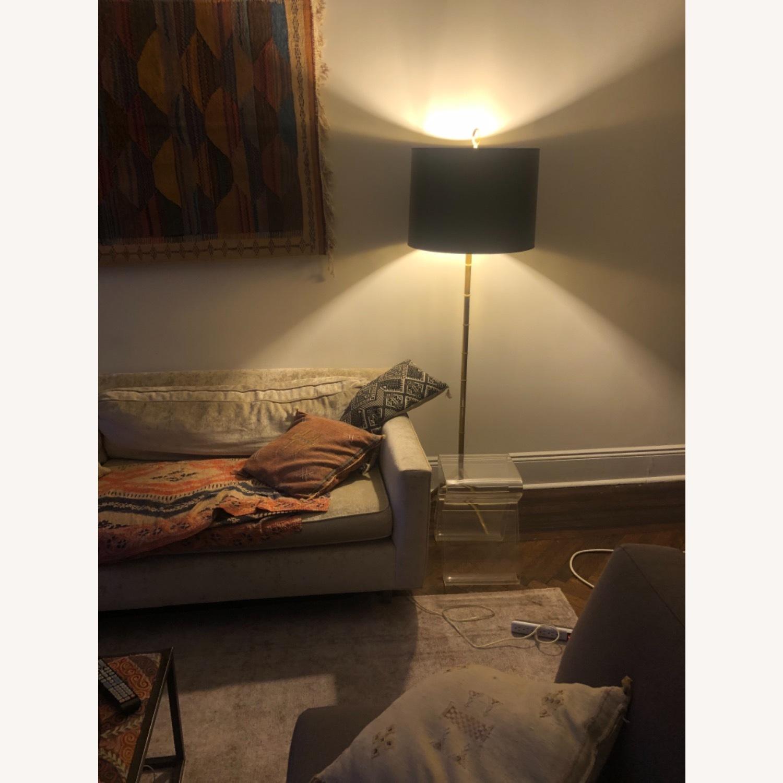 Jonathan Adler Brass Bamboo Floor Lamp - image-6