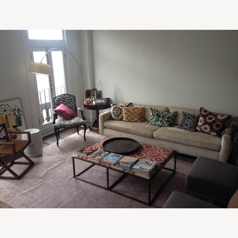 Handwoven Silk Velvet IKAT Set of 5 Pillows - image-30