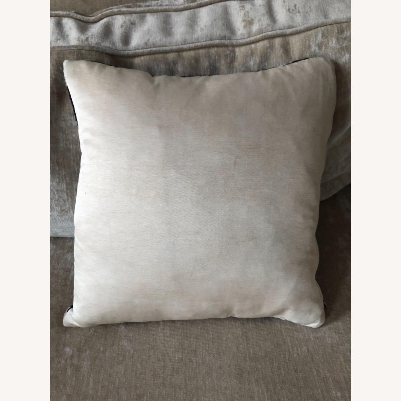 Handwoven Silk Velvet IKAT Set of 5 Pillows - image-20