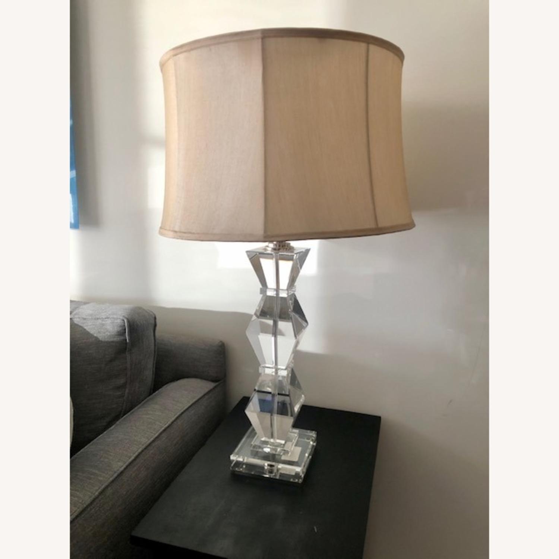 Ethan Allen Geometric Crystal Lamp - image-4