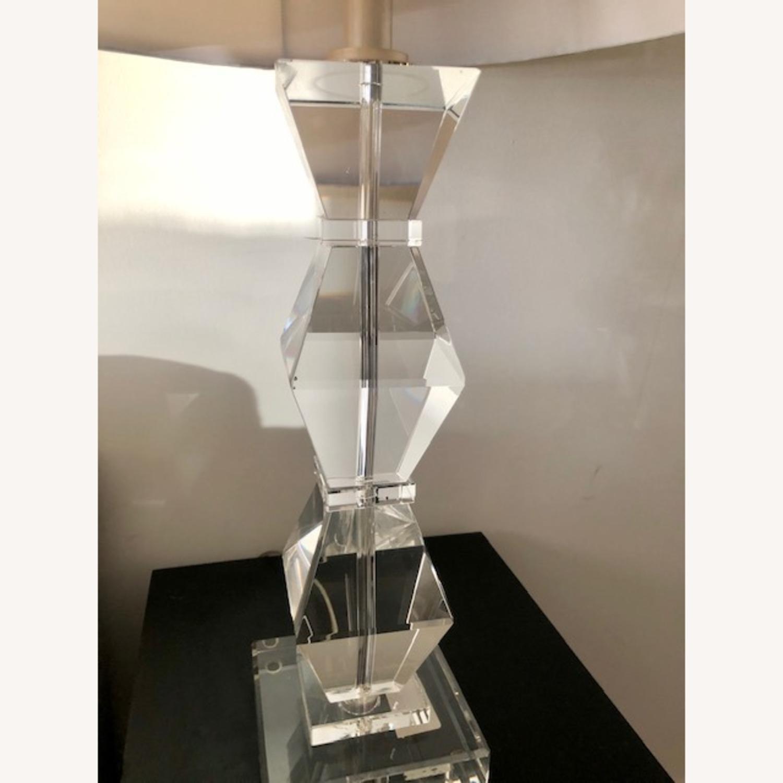 Ethan Allen Geometric Crystal Lamp - image-2