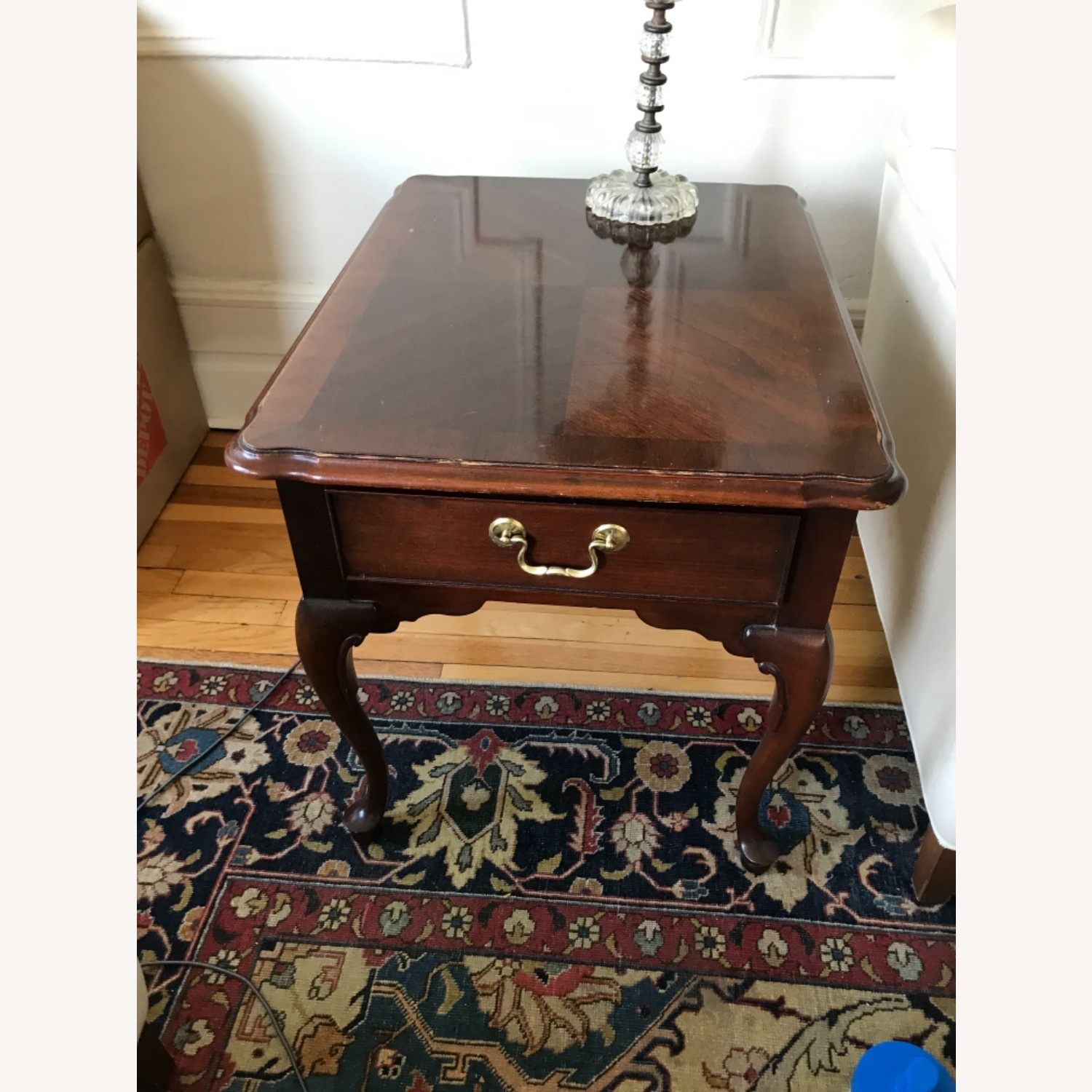 Ethan Allen Side Table - image-1