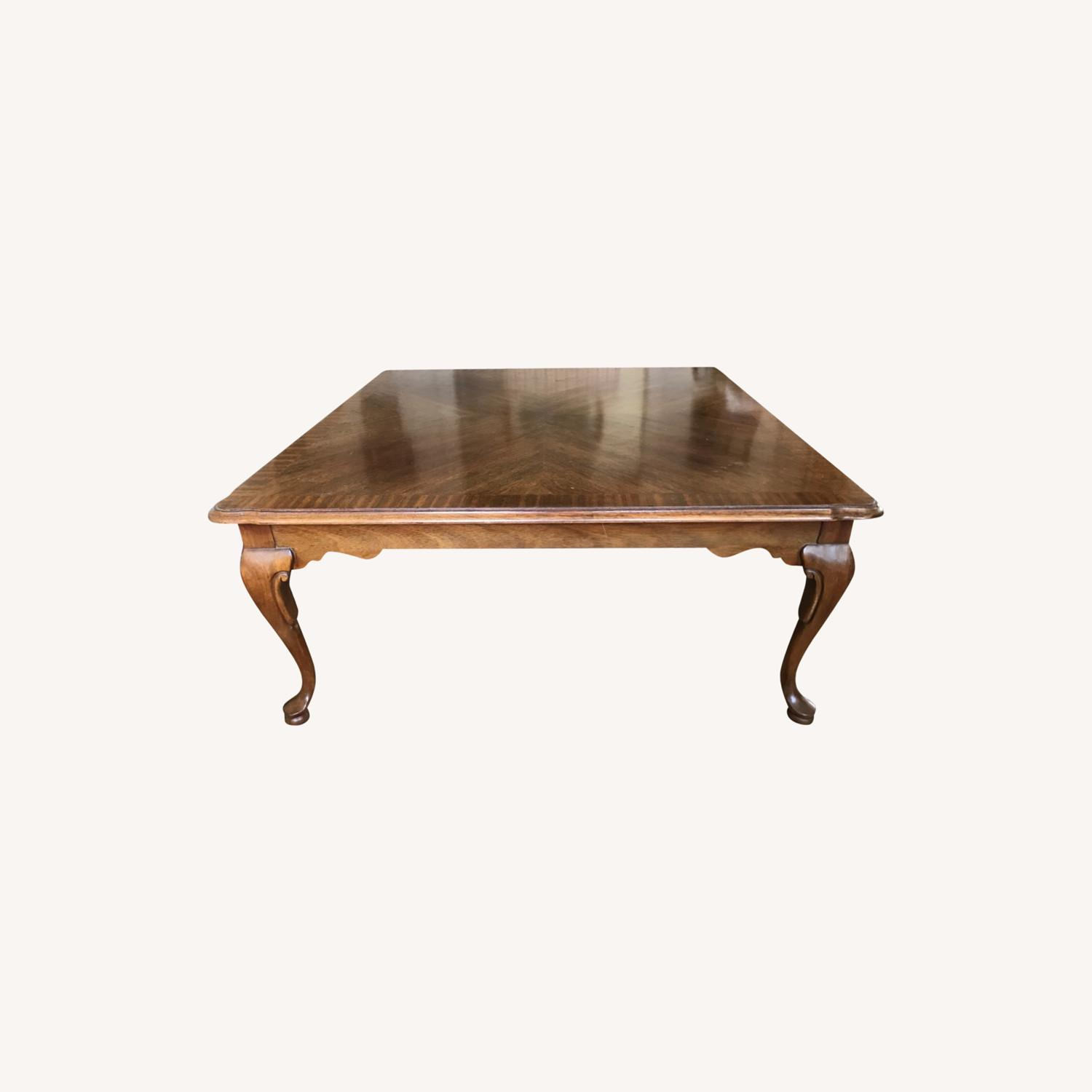 Ethan Allen Mahogany Coffee Table - image-0