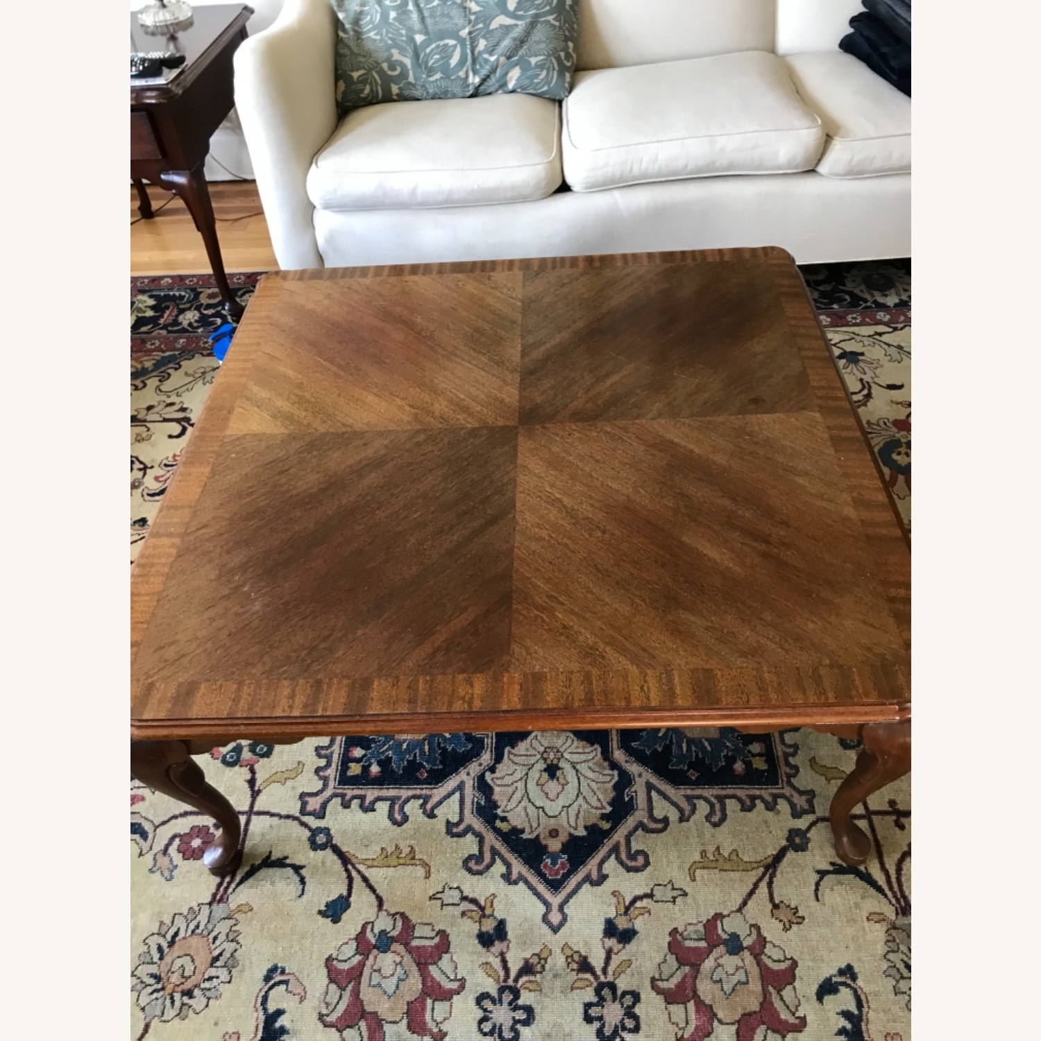 Ethan Allen Mahogany Coffee Table - image-3