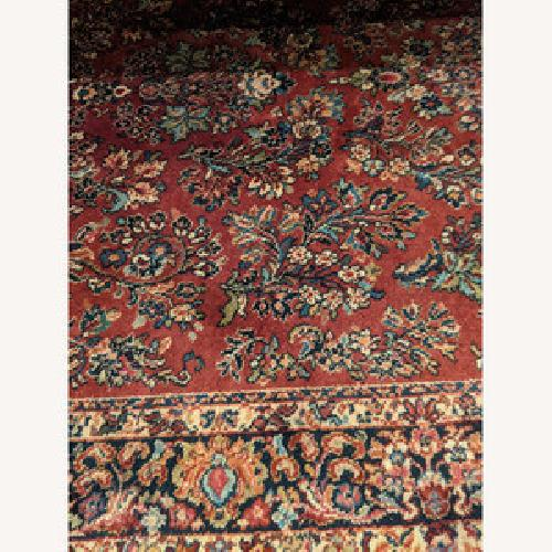 Used Karastan Wool Rug 9 x 5'9 for sale on AptDeco