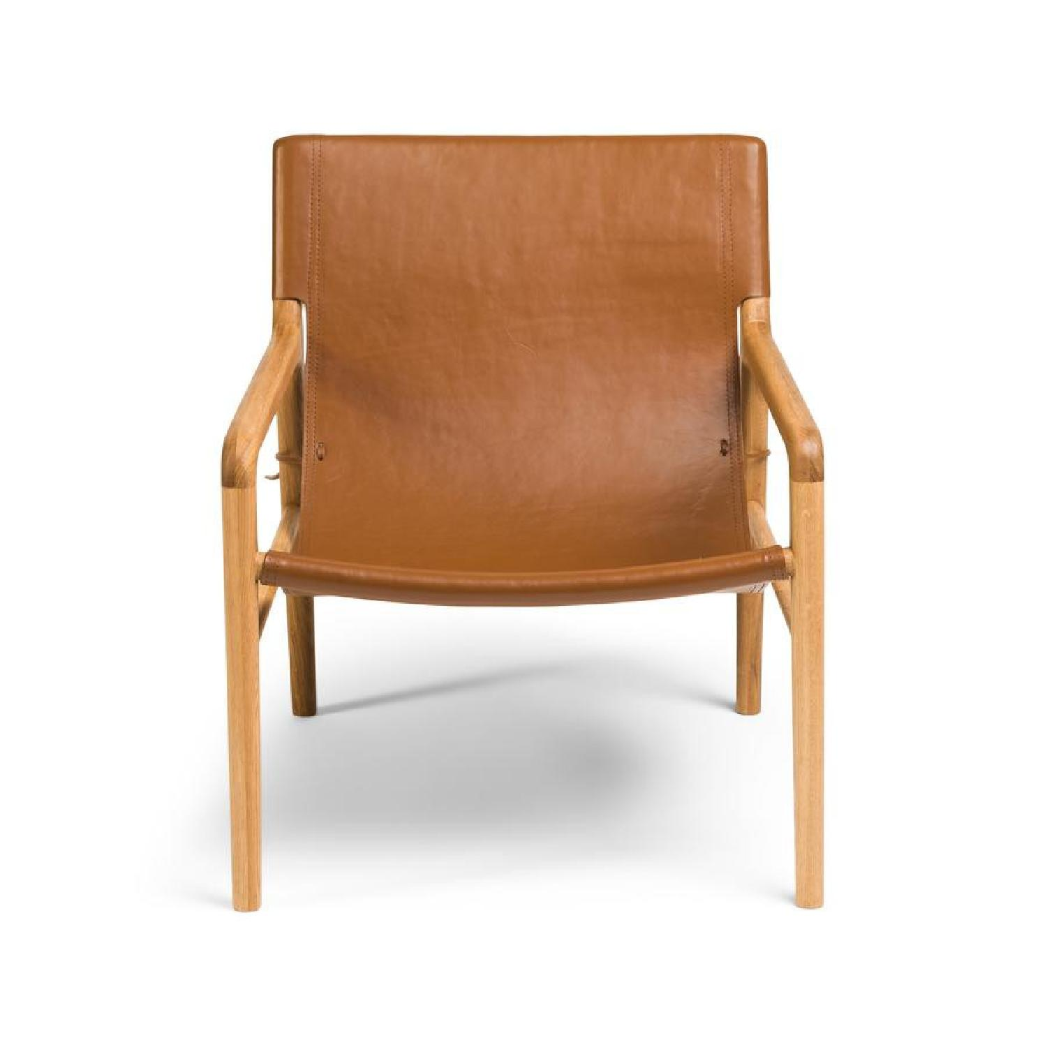 Barnaby Lane Smith Leather Chair - image-5
