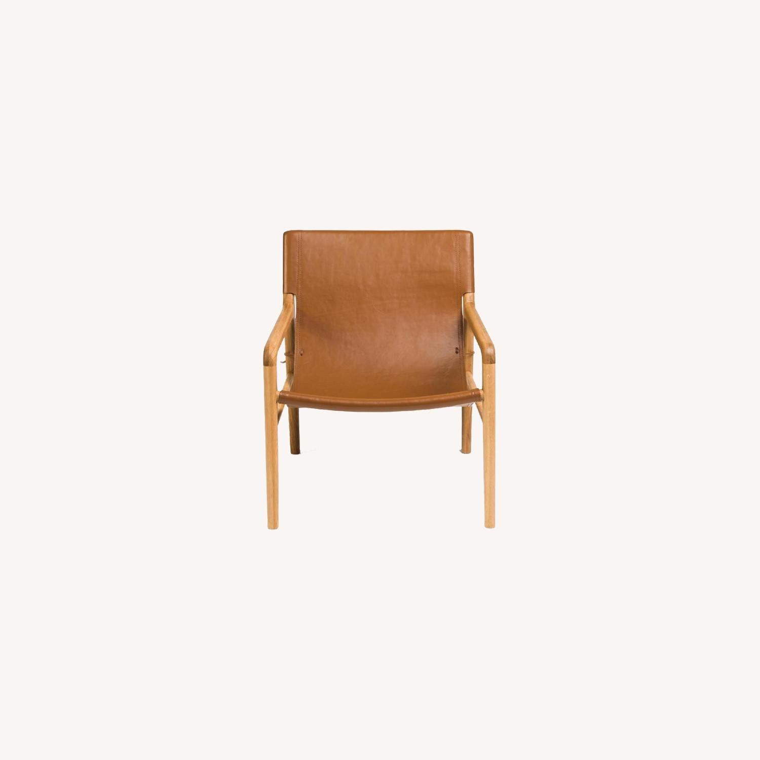 Barnaby Lane Smith Leather Chair - image-0